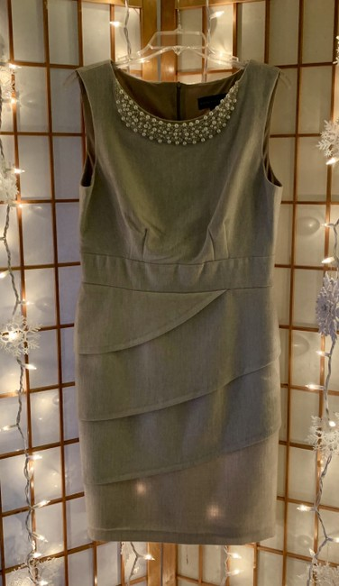Item - Beige Taupe No Mid-length Night Out Dress Size 10 (M)