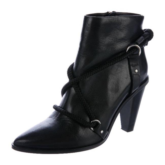 Item - Black Wikson Leather Fall Ankle Rtl Boots/Booties Size US 8 Regular (M, B)