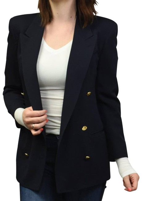 Item - Blue Augustus Double Breasted Blazer Size 2 (XS)