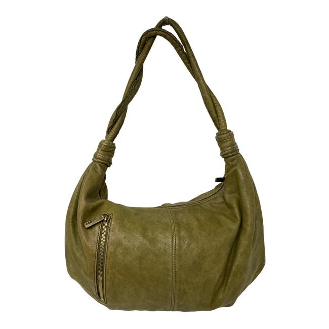 Item - Slouchy Green Leather  Bag