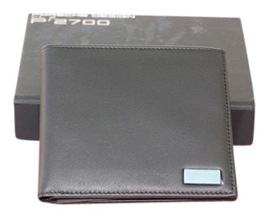 Gucci Porsche Design CL 2 P 2700 BLACK LEATHER WALLET NEW IN BOX EXCELLENT FATHERS DAY GIFT!