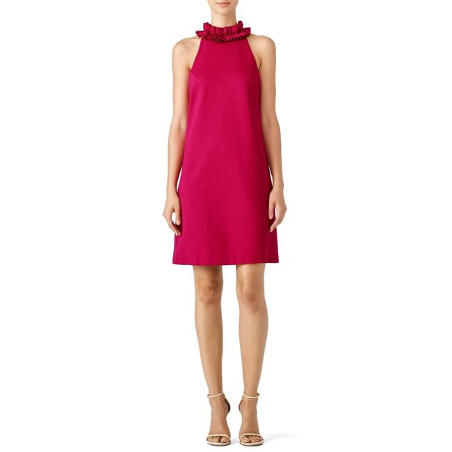 Item - Magenta Donnie Ruffle Beck Short Casual Dress Size 4 (S)