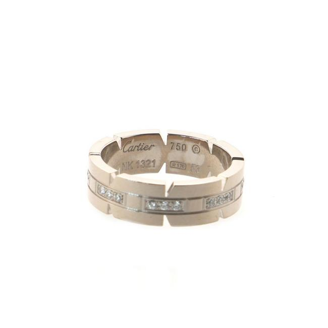 Item - Tank Francaise 18k White Gold with Diamonds Ring