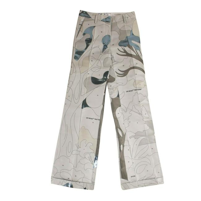 Item - Grey C/O Virgil Abloh 'color By Numbers' Pants Size 4 (S, 27)