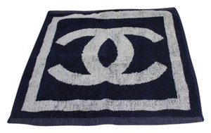 Chanel Chanel 2x Hand Towel Set CC Logo Reversible CCTLM23