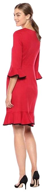 Item - Red New Bell Sleeve Short Casual Dress Size 10 (M)