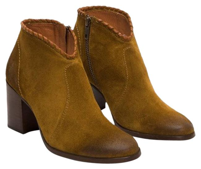 Item - Green Nora Whipstitch Shootie Suede Boots/Booties Size US 10 Regular (M, B)
