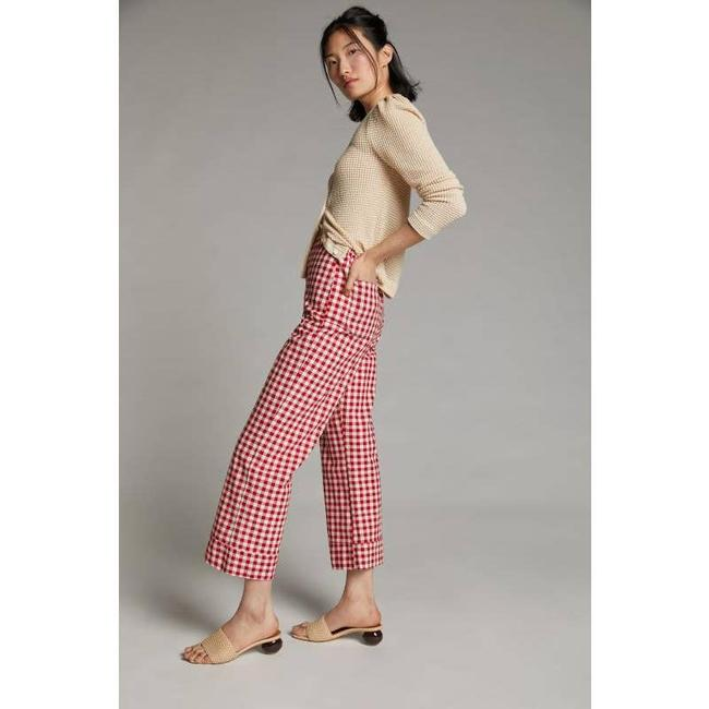 Item - Red and White New Rhonda Gingham Pants Size 6 (S, 28)
