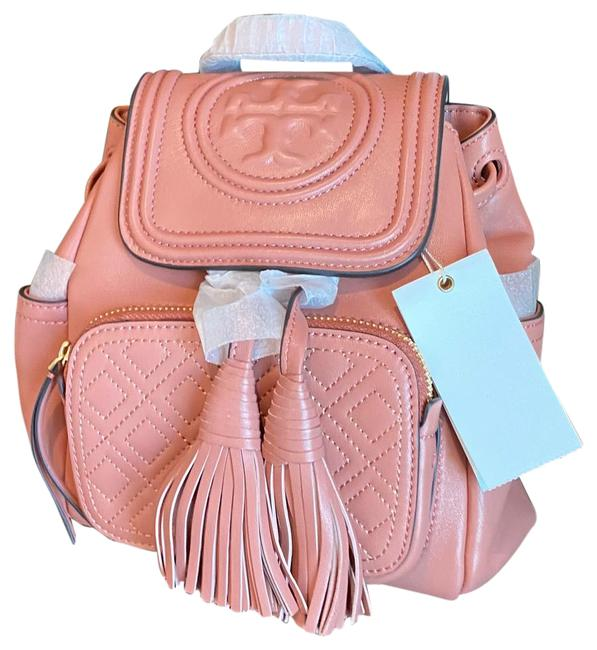 Item - Fleming Mini Pink Leather Backpack