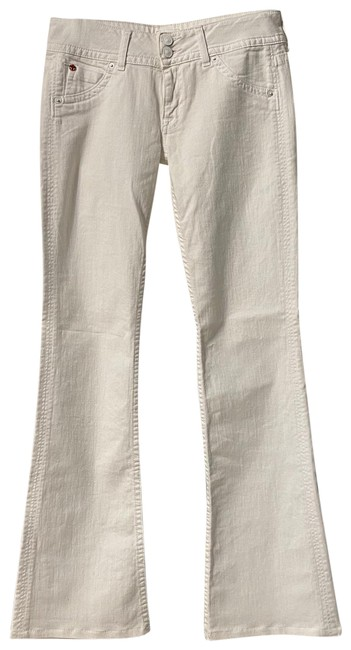 Item - White Light Wash Boot Cut Jeans Size 27 (4, S)