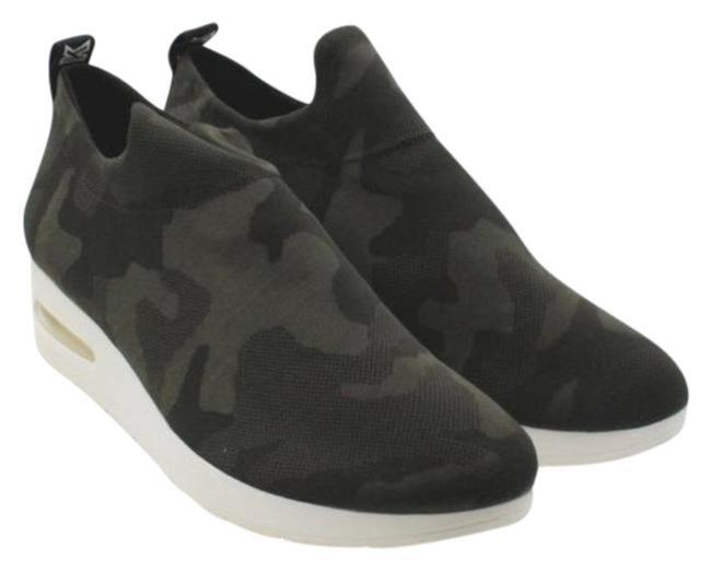 Item - Black Gray Angie Slip-on Sneakers Boots/Booties Size US 10 Regular (M, B)