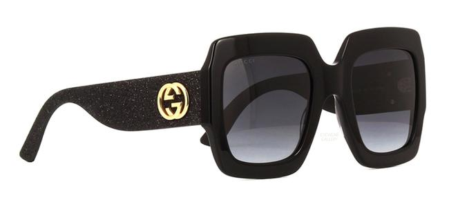 """Item - Black Large Thick Style Gg 0102s 001 """"Free Shipping"""" Oversized Sunglasses"""