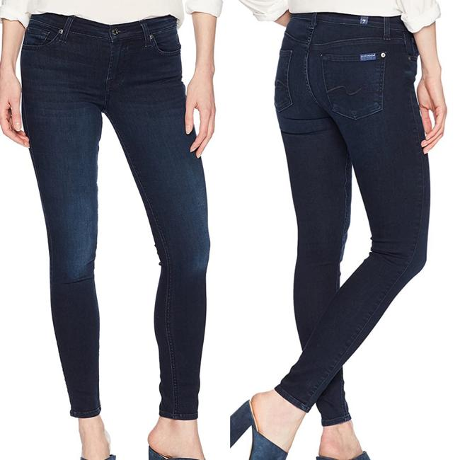 Item - Blue Dark Rinse Gwenevere Mid Skinny Jeans Size 2 (XS, 26)