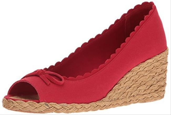 Item - Red Chaning Wedges Size US 10 Regular (M, B)