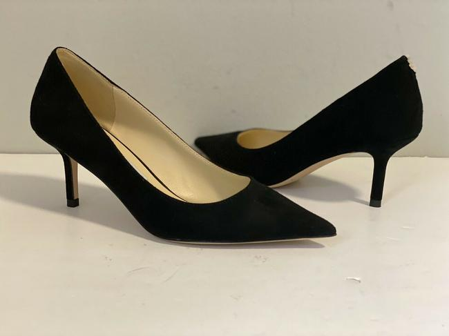 Item - Black Love 65mm. Suede Leather Pointed Pumps Size EU 36 (Approx. US 6) Regular (M, B)