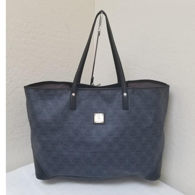 Item - Coated Canvas Large Shopper Tote