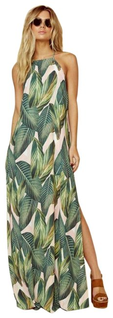 Item - Green Bronte Long Casual Maxi Dress Size 8 (M)