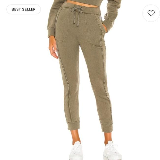 Item - Army Green Work It Out Jogger Pants Size 4 (S, 27)