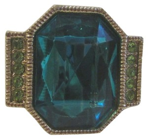 Other Big and Bold Turquoise Crystal Ring Size 7.5