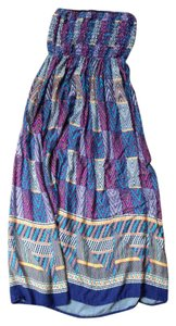 Aztec patterned Maxi Dress by Lily White