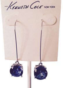 Kenneth Cole Kenneth Cole Faceted Blue Crystal Dangle Earrings Only! Matching Pieces Sold Seperately.