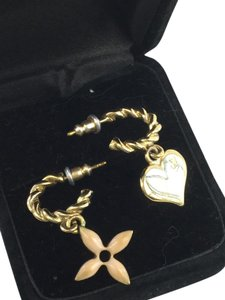 Louis Vuitton Louis Vuitton Charm Earrings Fleur Heart