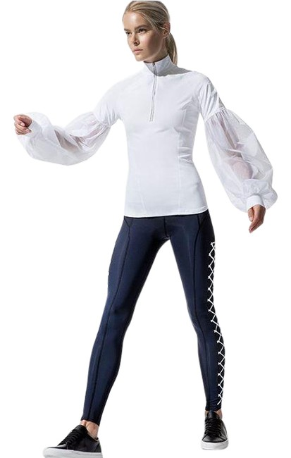 Item - White Carbon38 Fuller Activewear Top Size 6 (S)