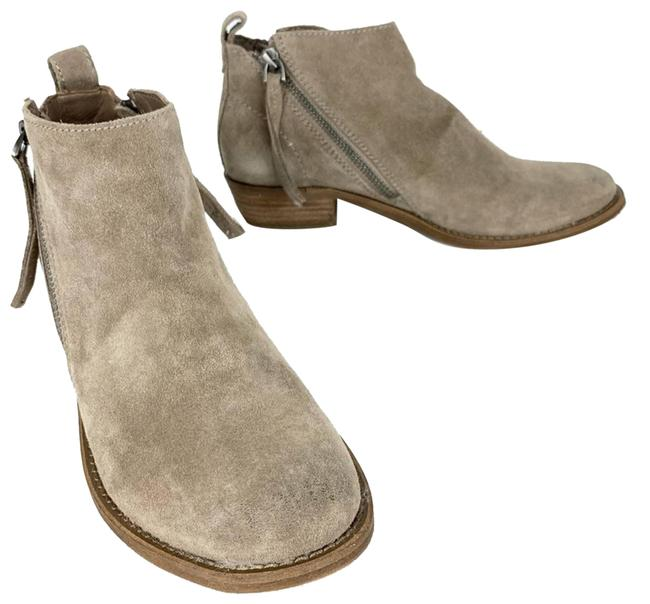 Item - Tan Sibil Ankle Dark Taupe Boots/Booties Size US 8.5 Regular (M, B)