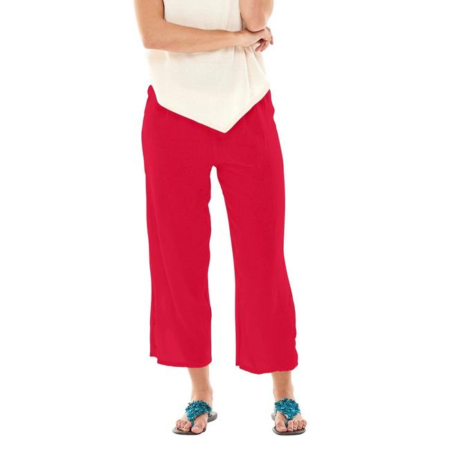 Item - Red Kate Ankle Cut Out Circle Crop Pants Size 10 (M, 31)
