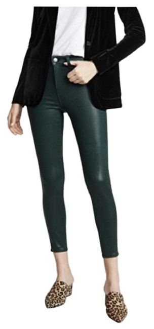 Item - Green Coated Margot Moss Skinny Jeans Size 25 (2, XS)