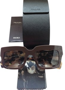 Prada Prada SPR 28P 51mm DHO-4M1 Brown Leopard Sunglasses