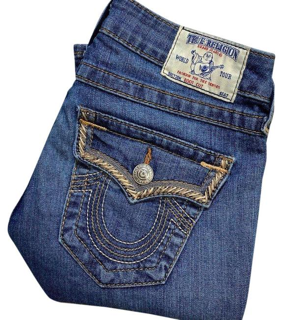 Item - Blue Medium Wash Wlh564gn9 Boot Cut Jeans Size 25 (2, XS)