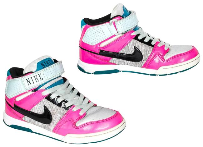 Item - Pink Air Mogan Mid 2 High Top Strap Lace Am Sneakers Size US 7 Regular (M, B)