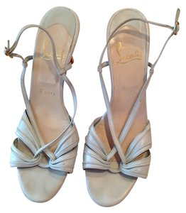Christian Louboutin Pale Blue Pumps