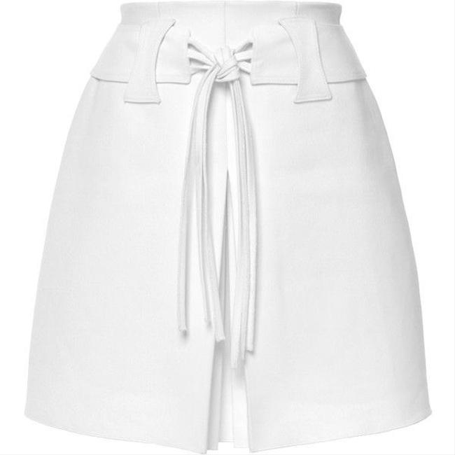 Item - White Pleated Skirt Size 2 (XS, 26)