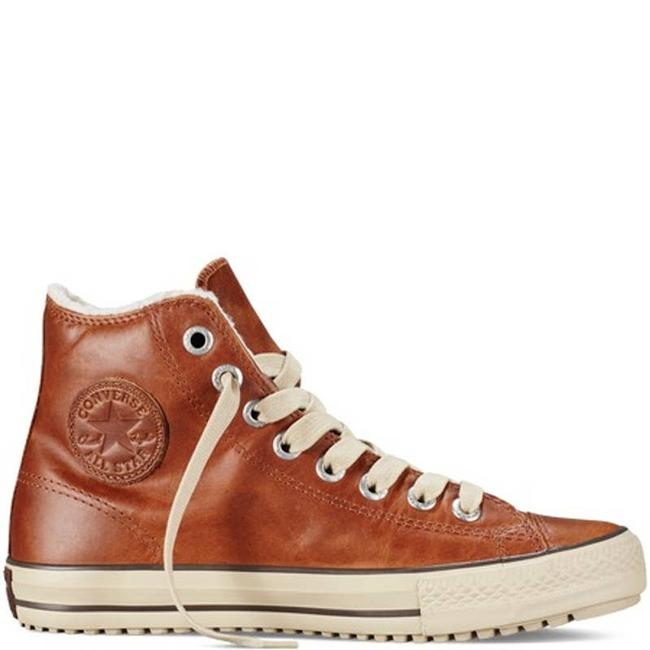 Item - Brown Chuck Taylor All Star Mid Pine Cone Sneakers Size US 7.5 Regular (M, B)