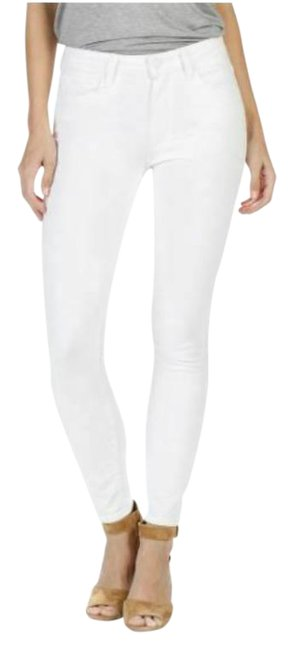 Item - White Light Wash Hoxton Ankle High Skinny Jeans Size 32 (8, M)