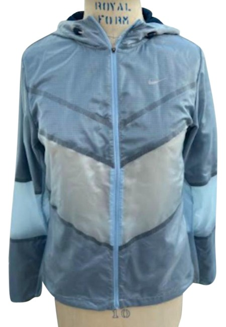 Item - Blue Nwot Running Cyclone Rain Activewear Outerwear Size 4 (S)