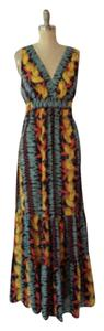 Tropical Print Maxi Dress by CAbi