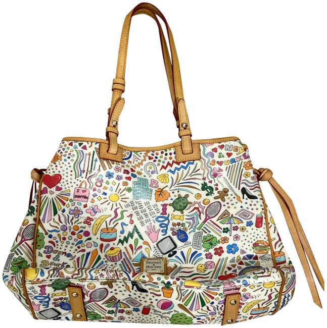 Item - Bag Limited Edition Multicolor Leather Tote