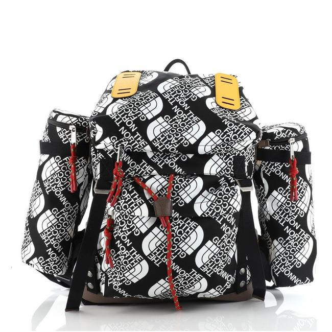 Item - The North Face Flap Printed Large Multicolor Nylon Backpack