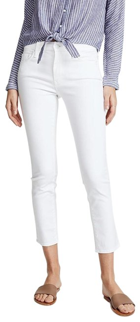 Item - White Looker Crop Skinny Jeans Size 31 (6, M)