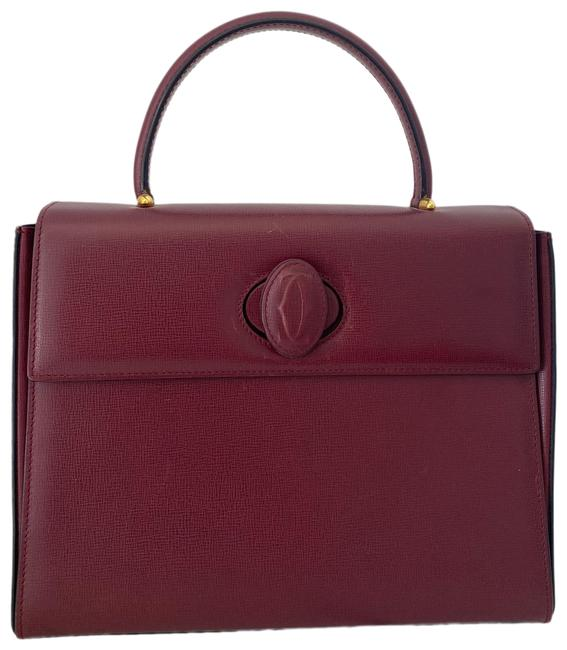 Item - Kelly Style Tote Leather Satchel