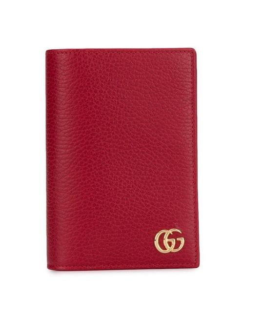 Item - Red Marmont Dolla Logo Plaque 598588 Wallet