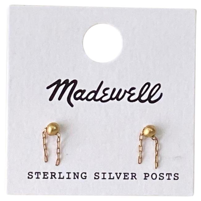 Item - Gold Sterling Silver Posts Earrings