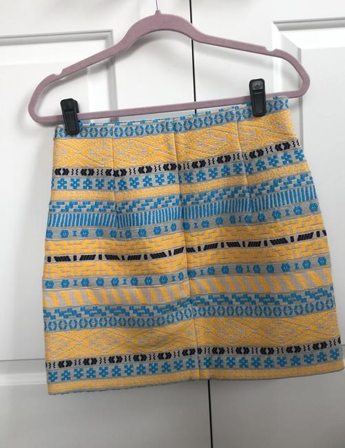 Item - Multicolor Embroidered Skirt Size 6 (S, 28)