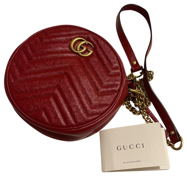 Item - Shoulder Marmont Red Leather Cross Body Bag