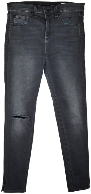 Item - Steele Destroyed 10 Inch Capri Super High Rise Skinny Jeans Size 28 (4, S)