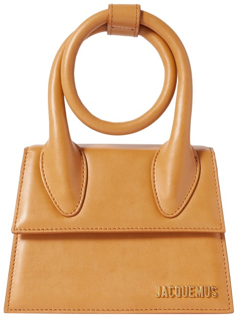 Item - Le Chiquito Noeud Small Beige Leather Shoulder Bag