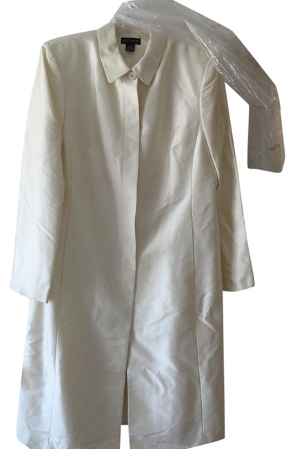 Ann Taylor Fully Lined Invisible Buttons Dry Clean Only Coat